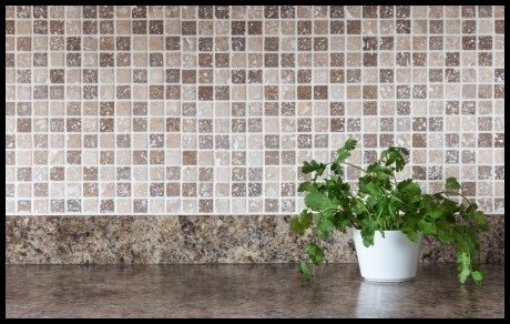 kitchen facelift - new tile backsplash